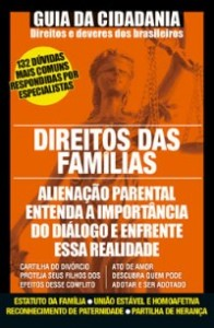capa revista Guia da cidadania direito das famílias